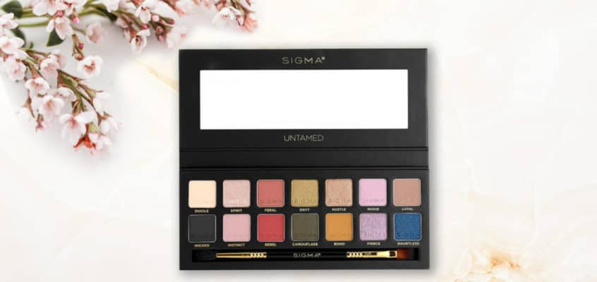The Sigma Beauty Untamed Eyeshadow Palette Review
