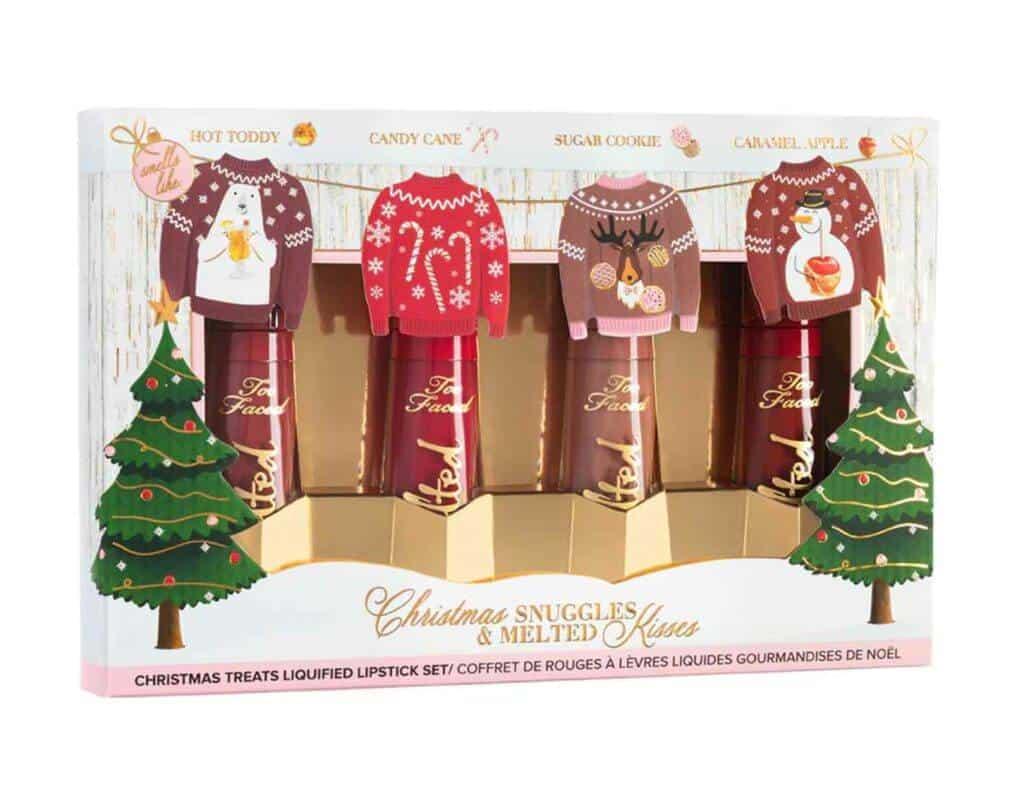 Christmas Snuggles & Melted Kisses Liquid Lipstick Set