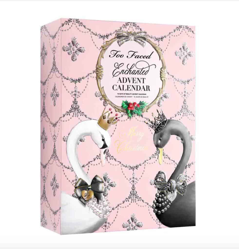 too faced advent calender 12 days of christmas