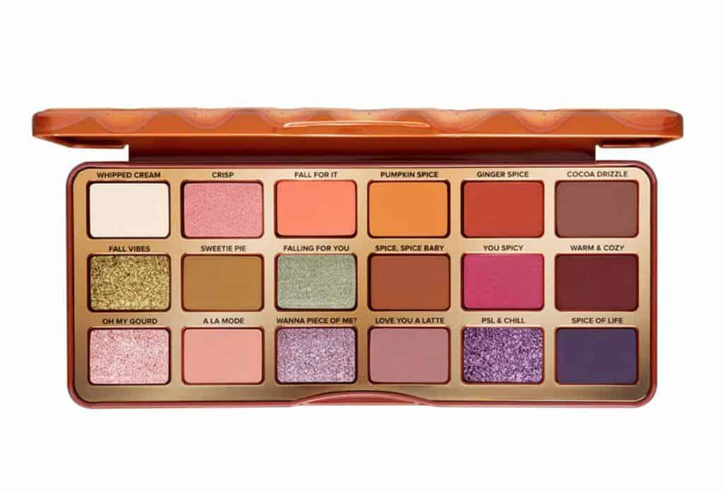 Pumpkin Spice Warm & Spicy Eye Shadow Palette