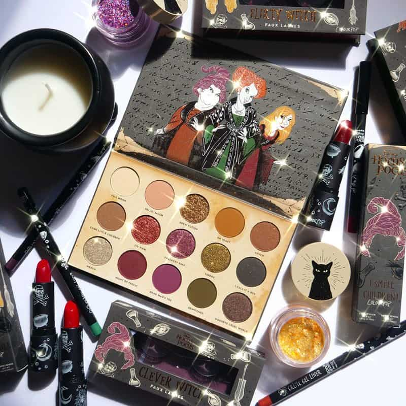 ColourPop Disney Hocus Pocus Holiday Collection Is Here In Time For Halloween