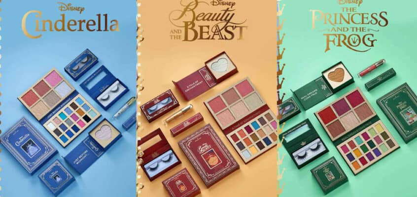 Feel Like A Princess with Makeup Revolution & Disney New Storybook Collab!