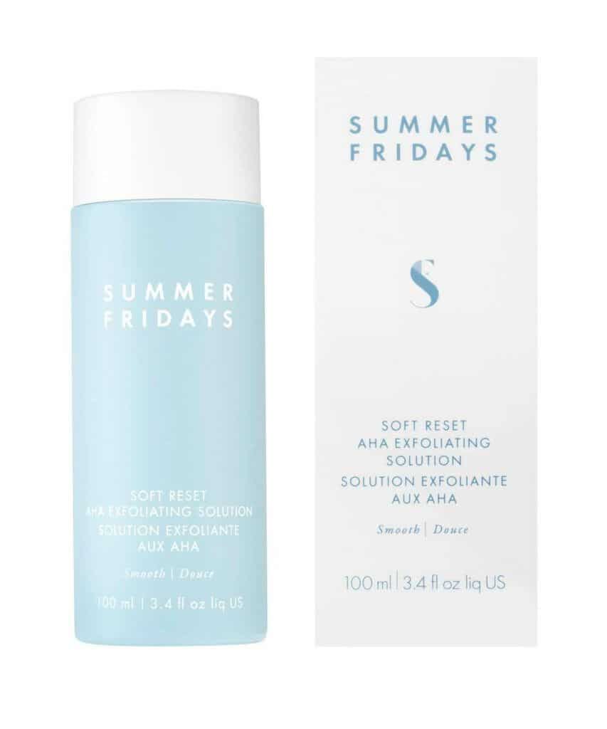 Summer Friday's Soft Reset AHA Exfoliating Solution