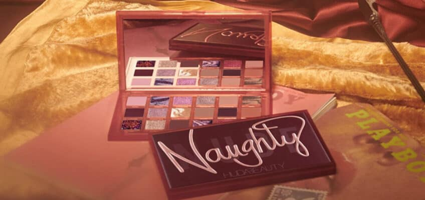huda beauty naught nude eyeshadow palette review