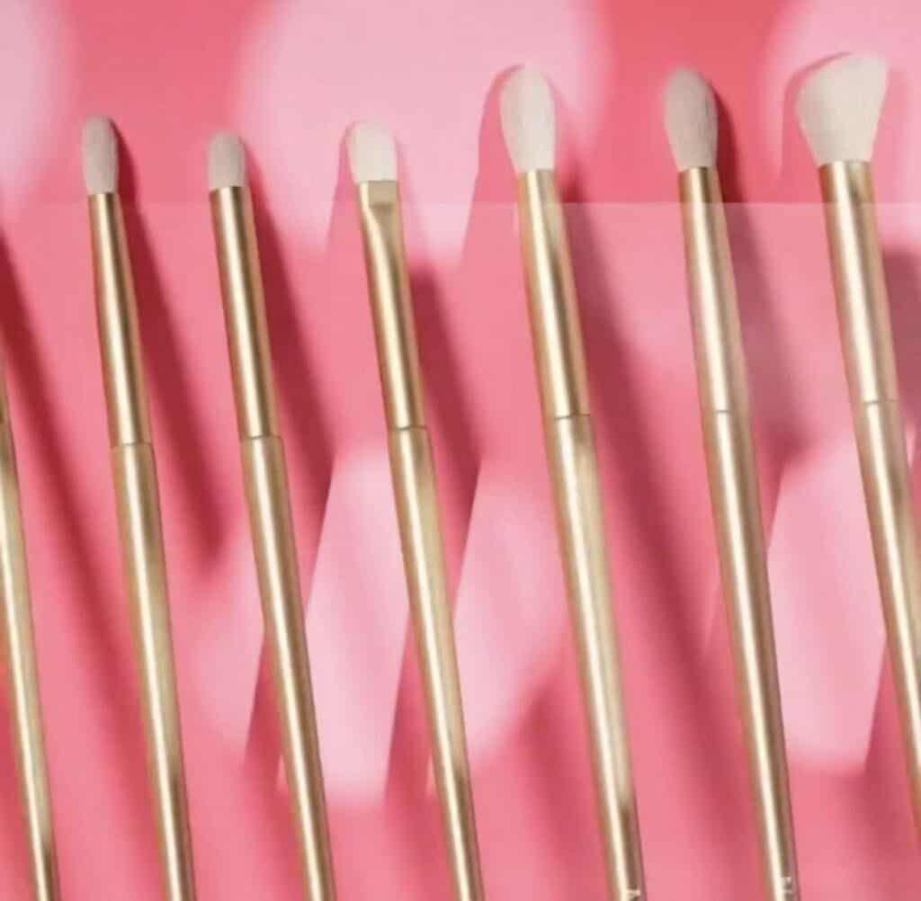 Morphe Brush Lust 10-Piece Eye Brush Set & Bag