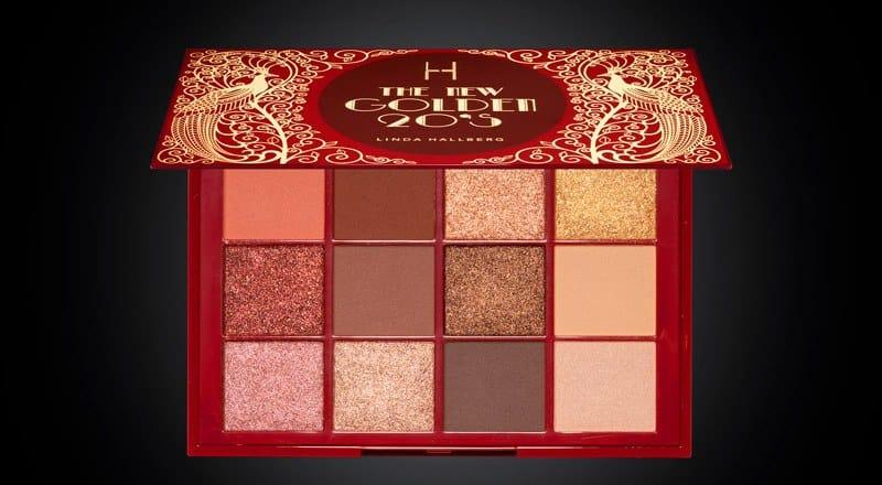 Linda Hallberg Cosmetics New Golden 20s Palette & Primer