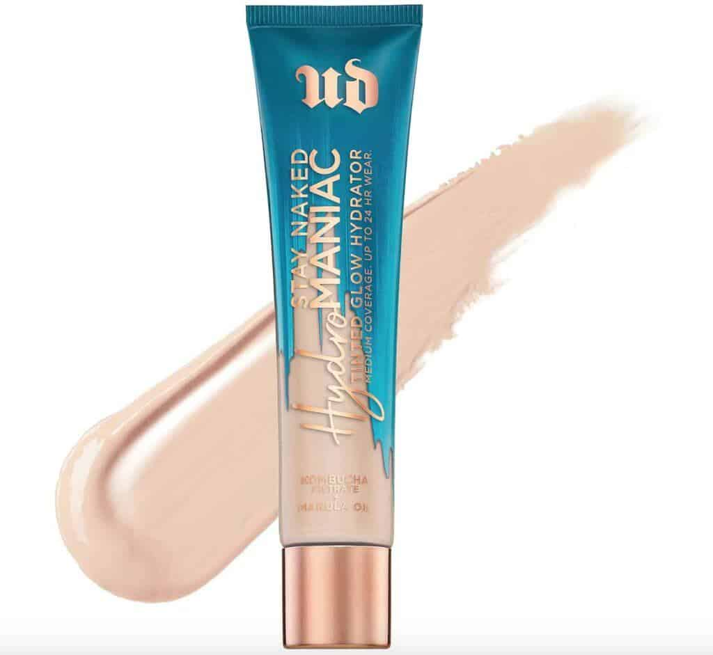 Urban Decay Stay Naked Hydromaniac Tinted Glow Hydrator Review