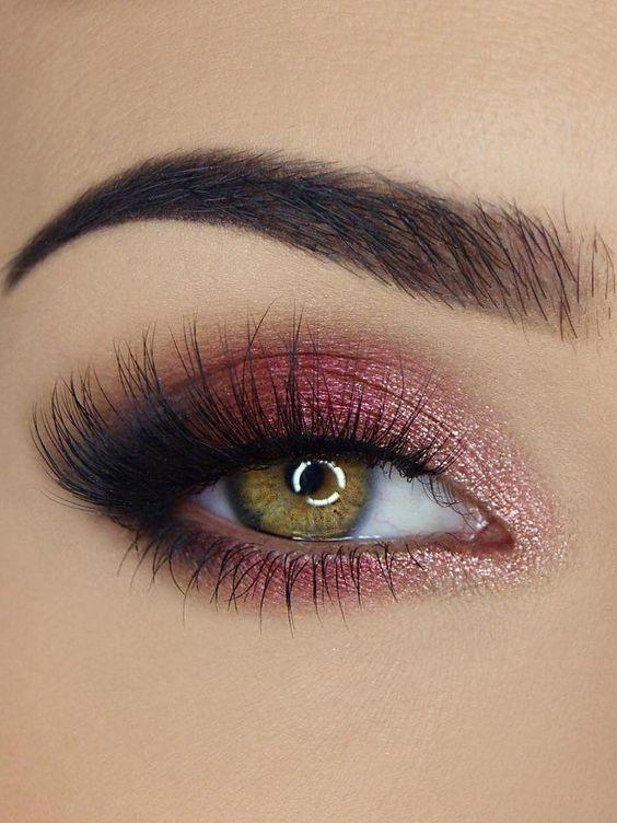 smokey pink eye