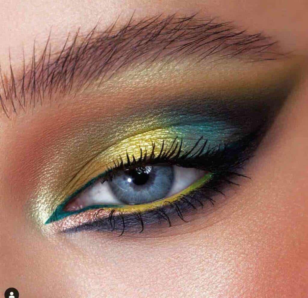 Turquoise Yellow