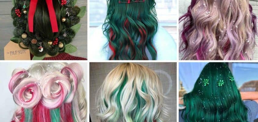 18 Cute Christmas Hairstyles You Need To Try This Holiday Season