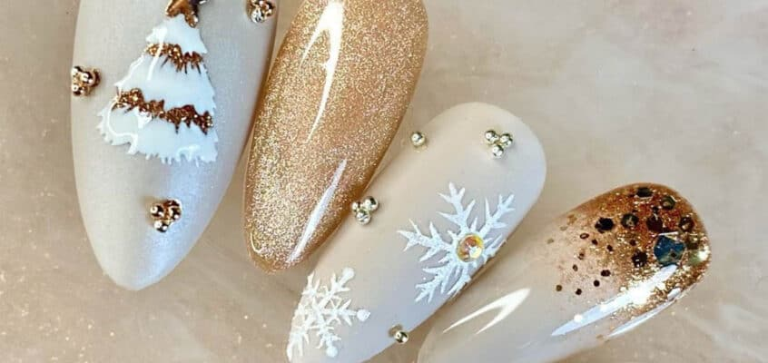 Festive Christmas Nail Ideas To Get You In The Holiday Spirit