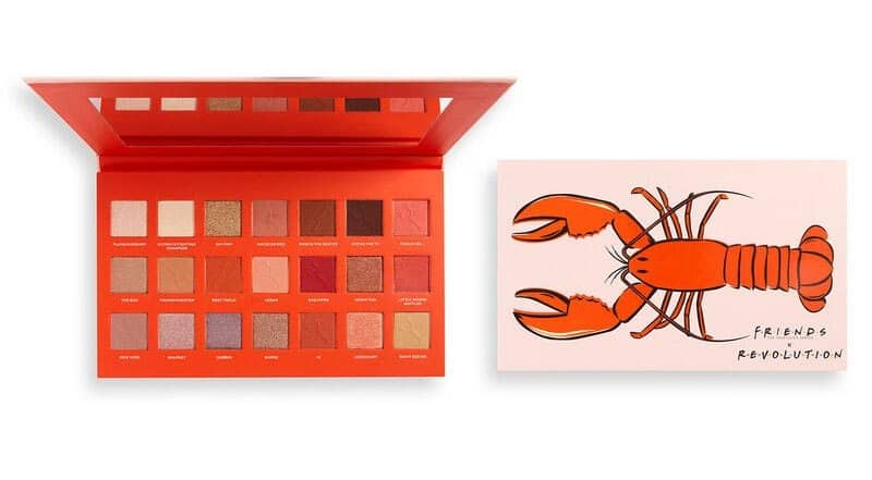 Makeup Revolution X Friends He's Her Lobster Eyeshadow Palette