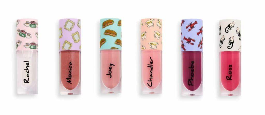 Makeup Revolution X Friends lip glosses