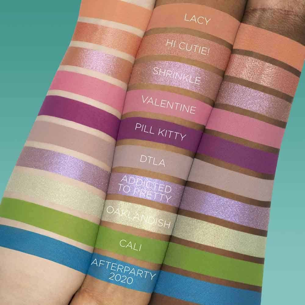 Sugar Pill 10th Anniversary Capsule Collection swatches