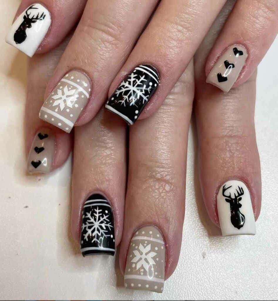Ugly Jumper Nails
