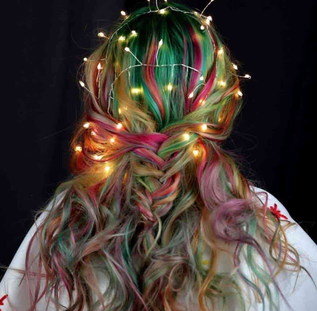 Magical Magic hairstyle