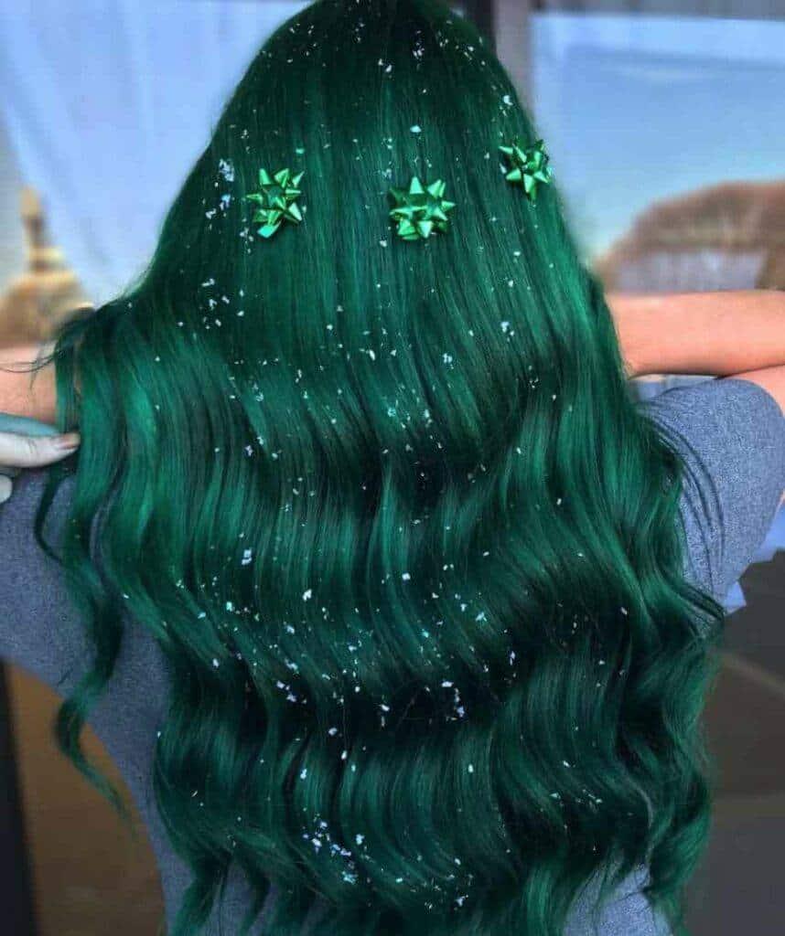 Pine Tree Hairstyle