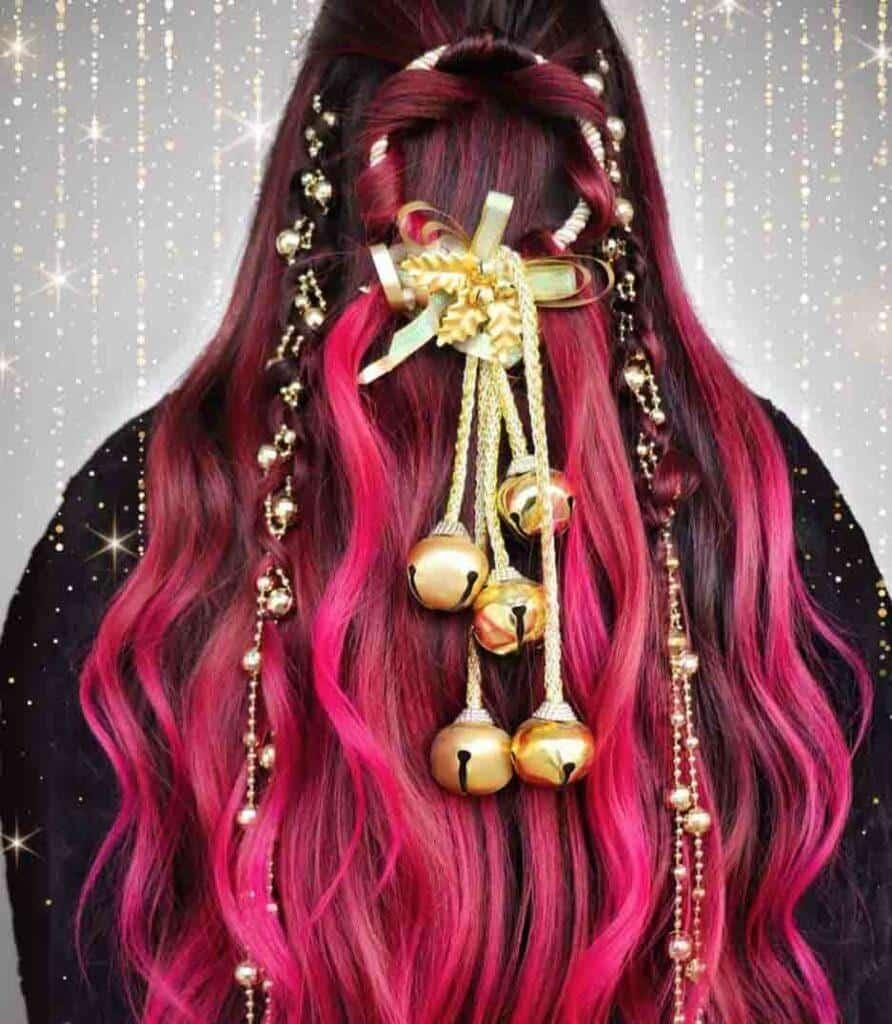 Jingle Bells hair