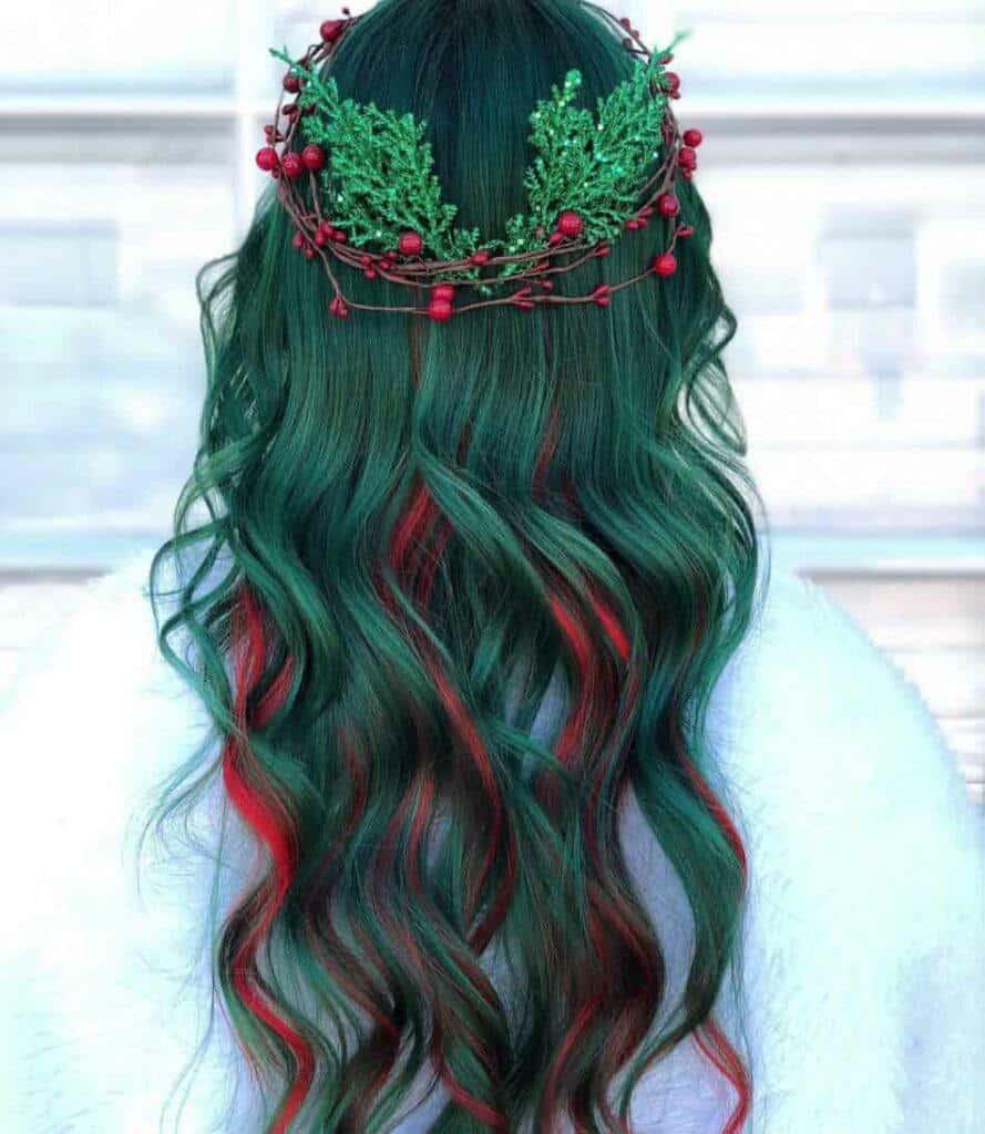 Mistletoe Hair