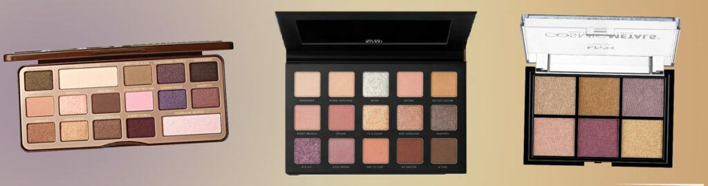 Purple Nudes- Too Faced Chocolate Bar Eyeshadow Palette Dupes