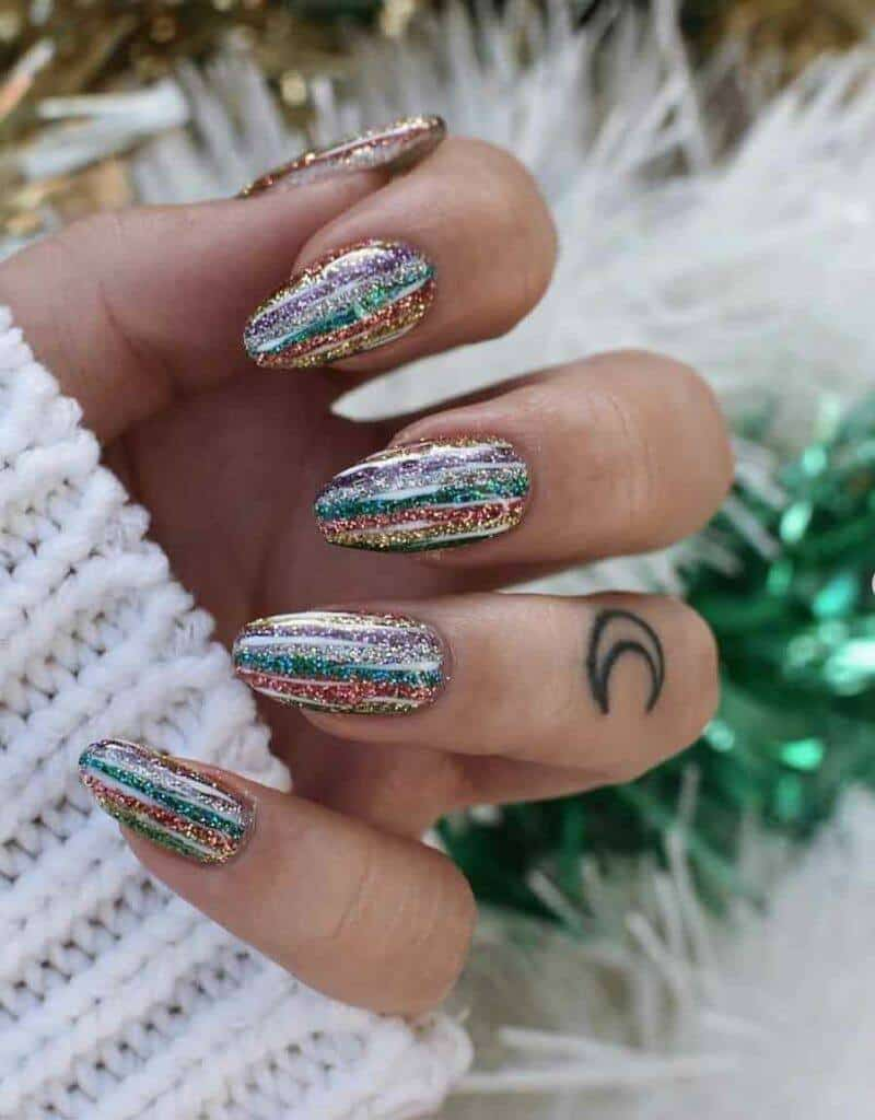 Tinsel Nails