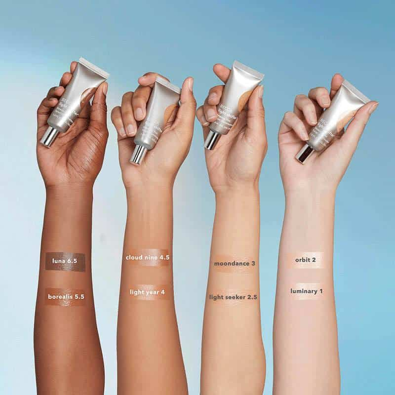 Becca Cosmetics Light Shifter Dewing Tint swatches