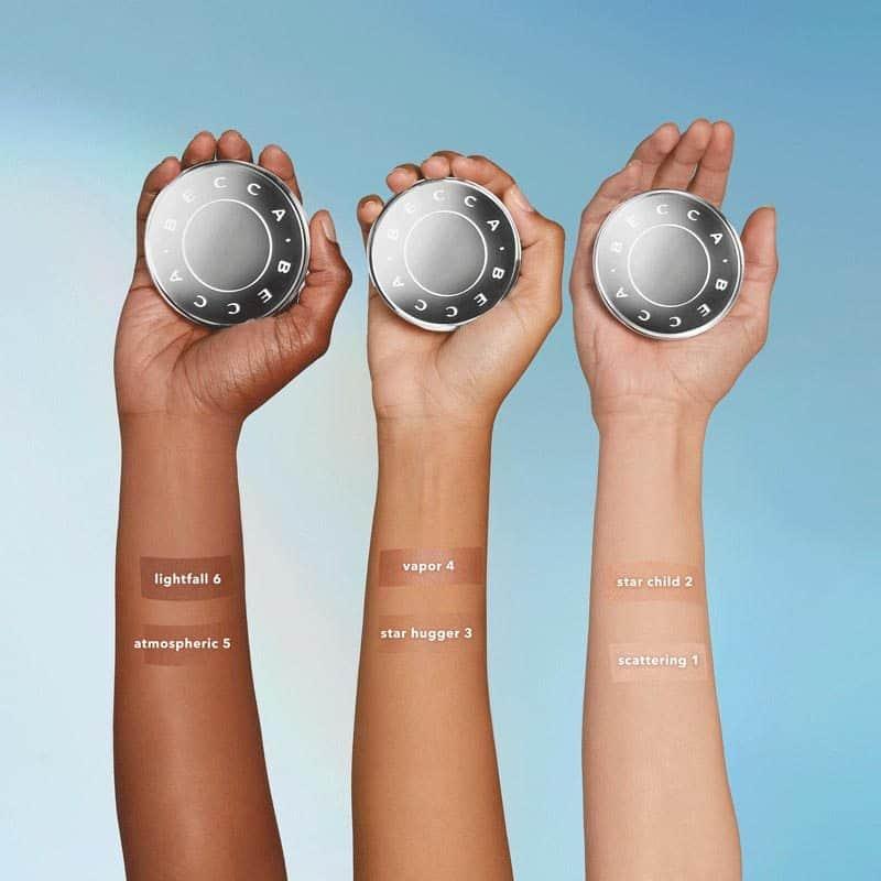 Becca Cosmetics Light Shifter Finishing Veil swatches