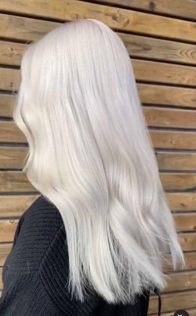 Ice Queen hair