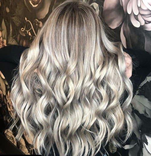 Long Ashy Blonde Hair