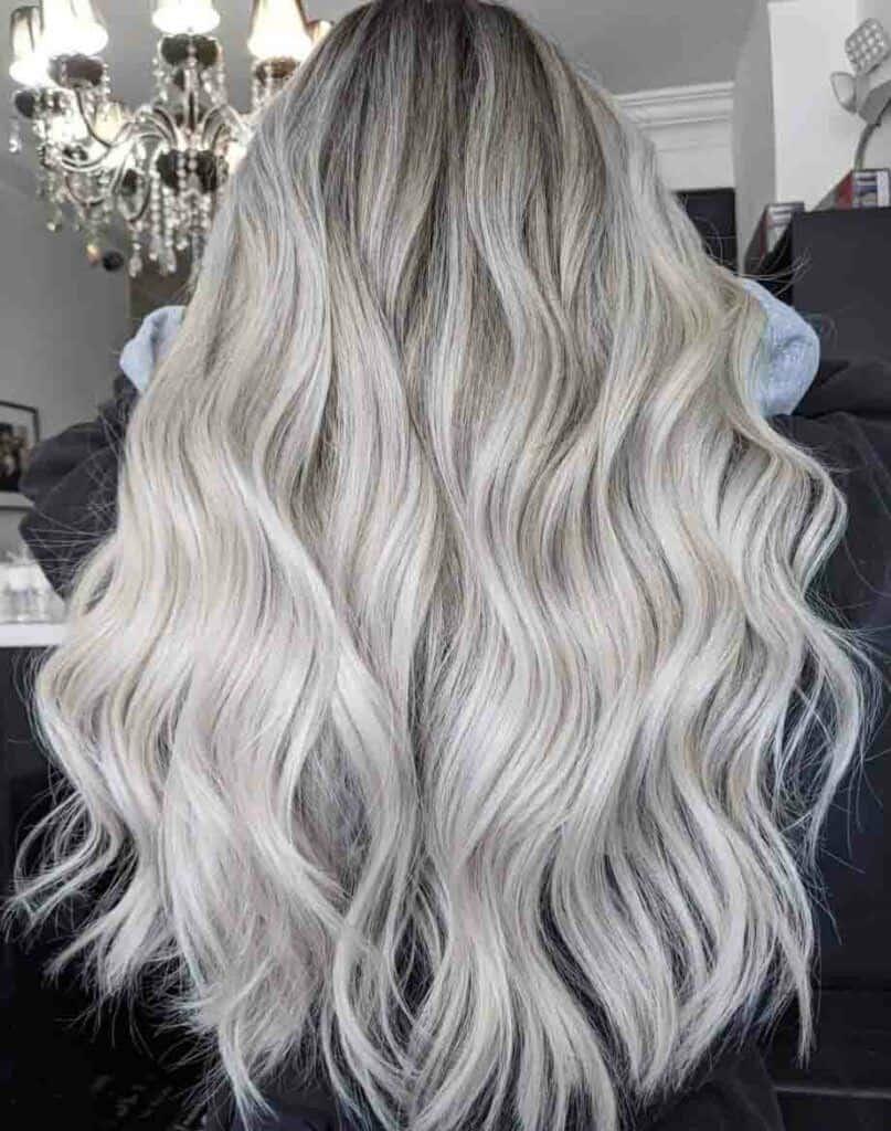 Silver Blonde Mane