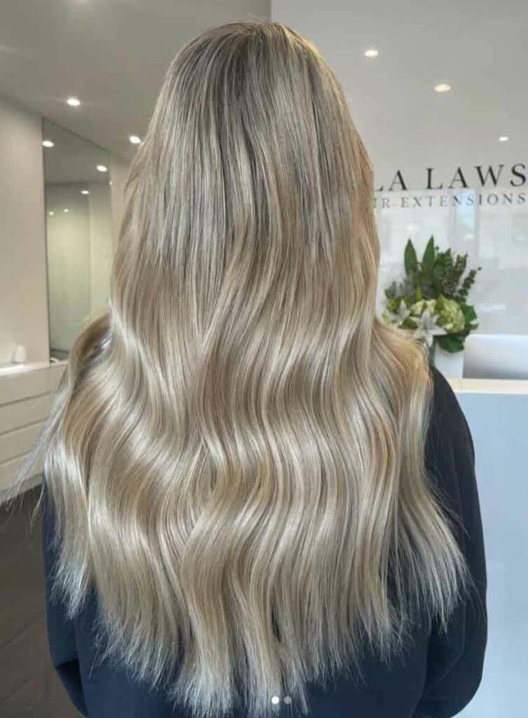Subtle Blonde Balayage Hair