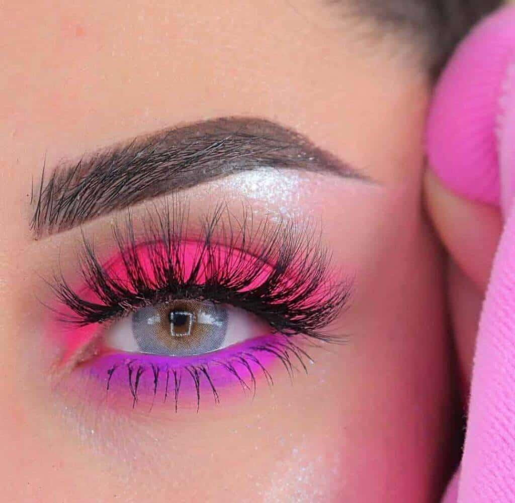 fuschia pink