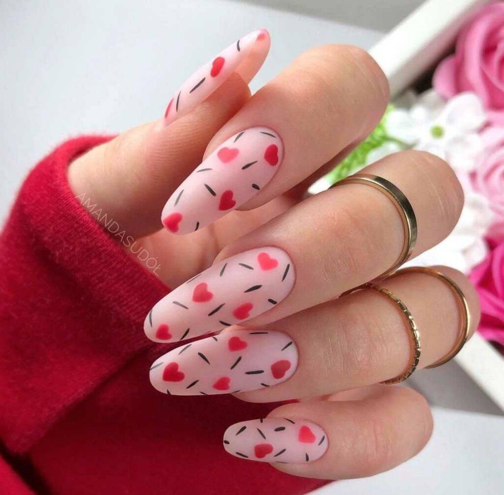 Cupcake Sprinkles Nails