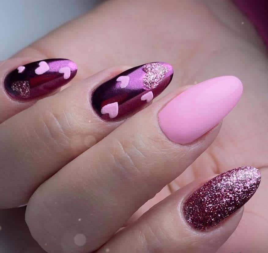 Feeling Pink Nails
