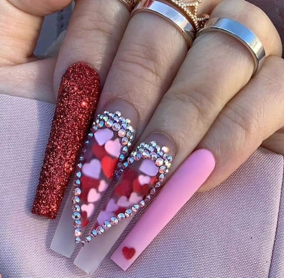 Perfect Heart Nails