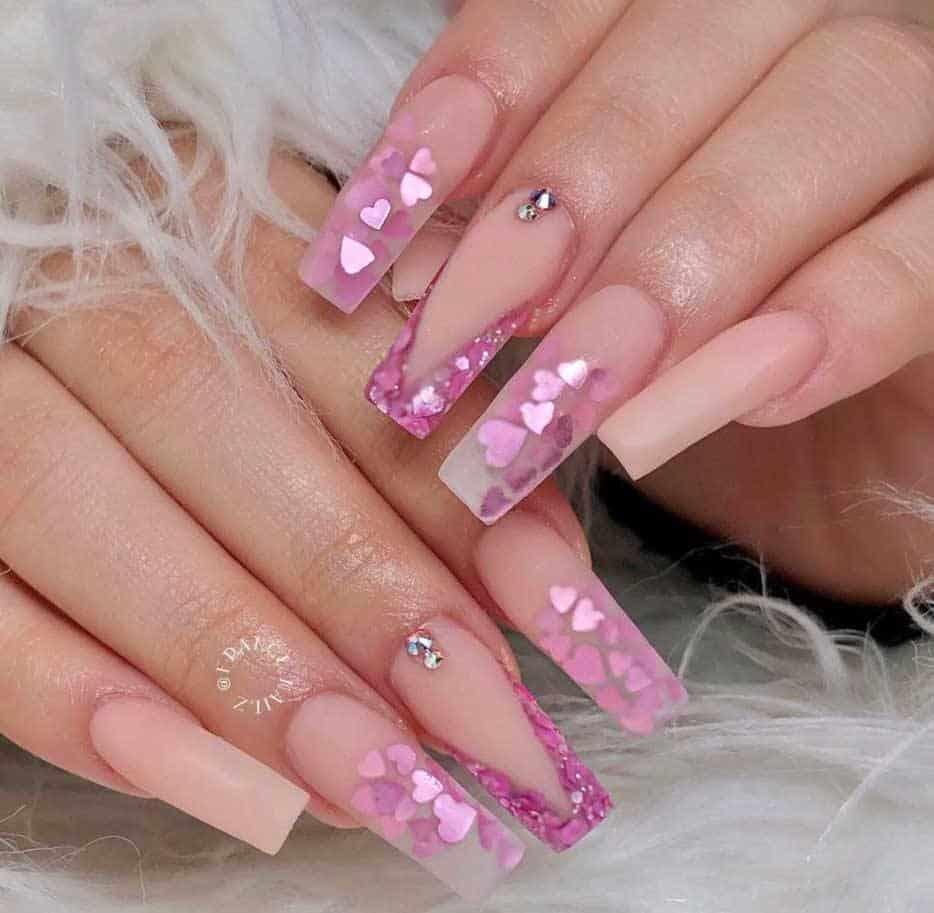 Princess Pink Nails