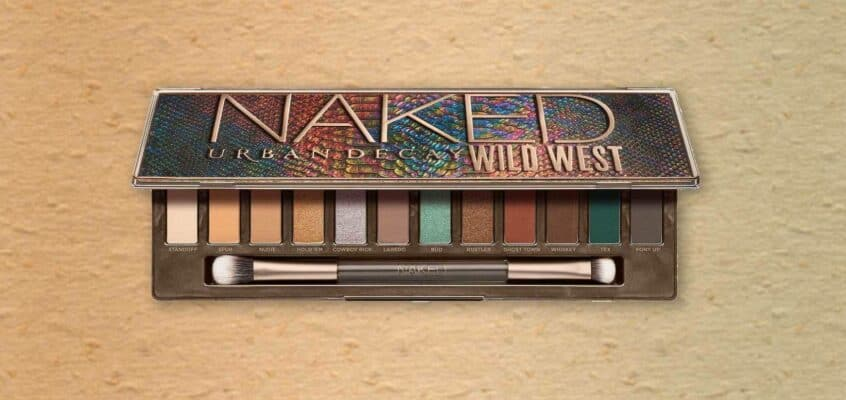 Urban Decay's New Naked Palette- The Naked Wild West Eyeshadow Palette