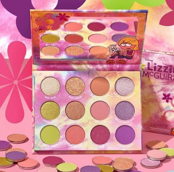 ColourPop Lizzie McGuire eyeshadow palette
