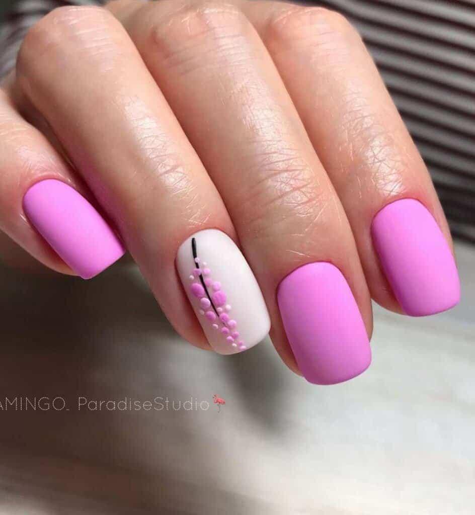 taffy pink nails