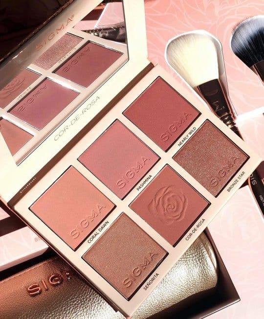 Cor De Rose Blush Palette