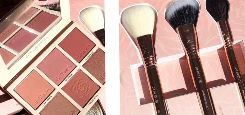 Sigma Beauty New Cor De Rosa Extended Collection
