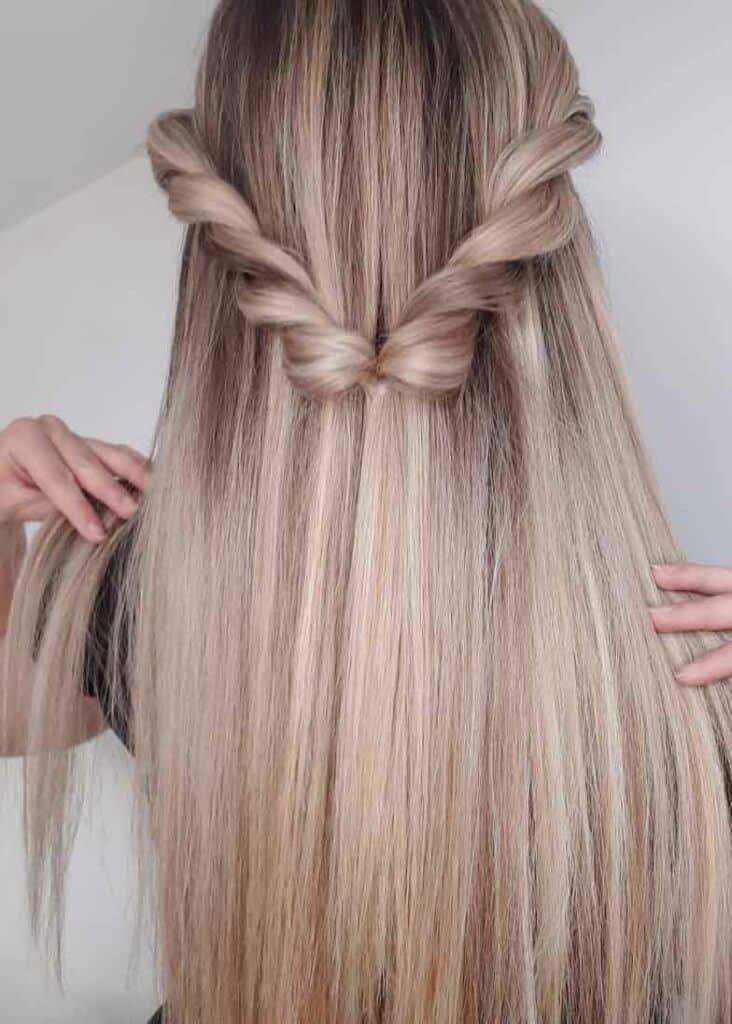 half twirl braid