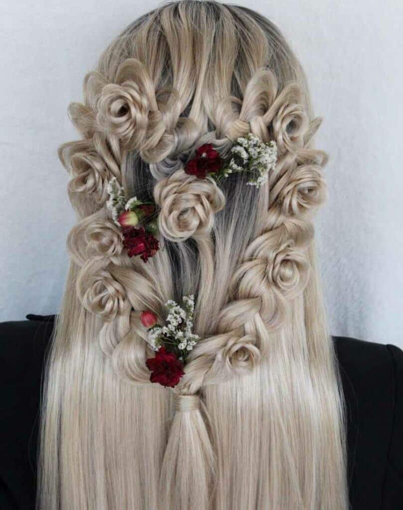 Heart Flower Braid