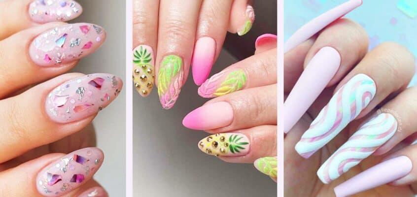 24 Pretty Summer Nail Ideas That You Will Love
