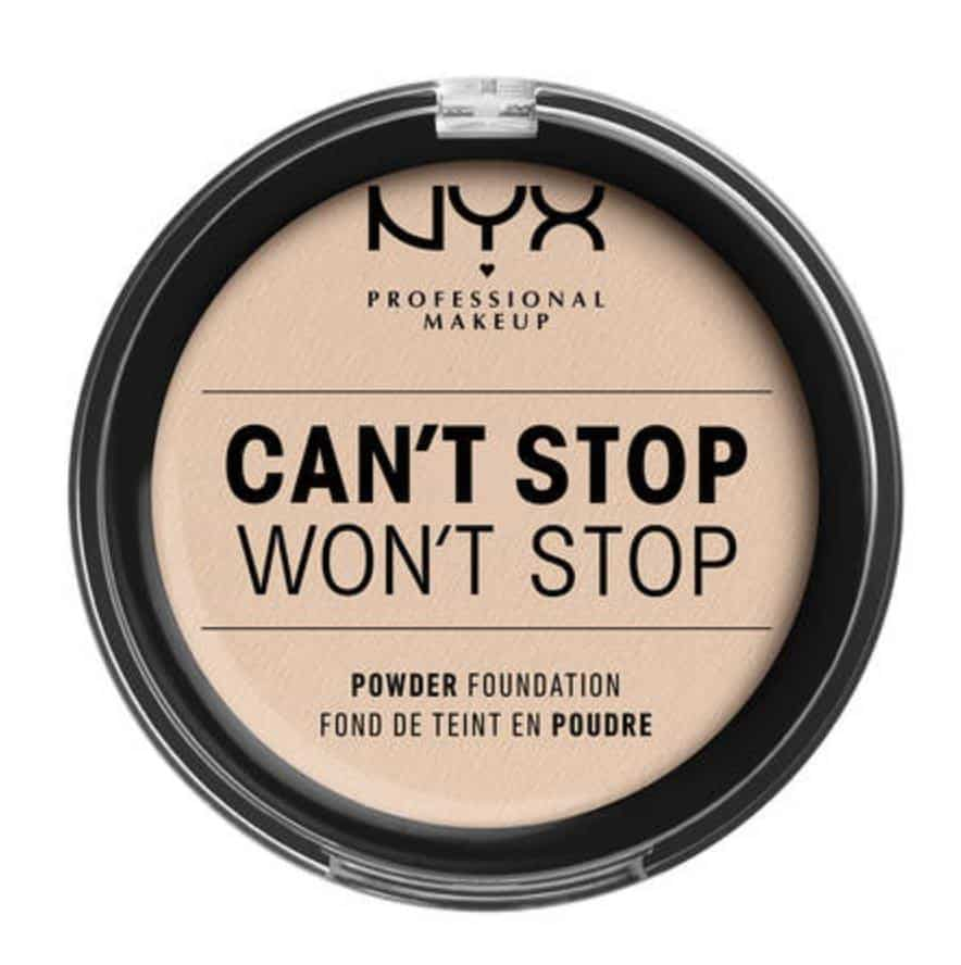 NYX Cosmetics Can't Stop Won't Stop Powder Foundation