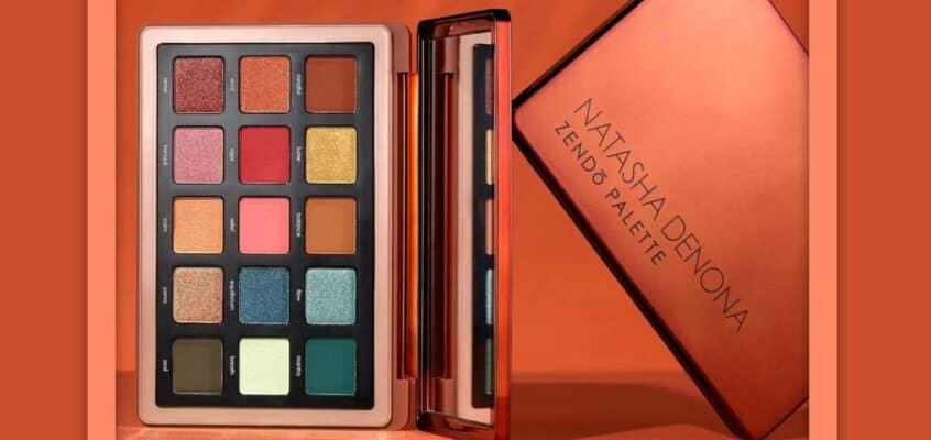 Natasha Denona's New Summer Eyeshadow Palette- The Zendo Eyeshadow Palette