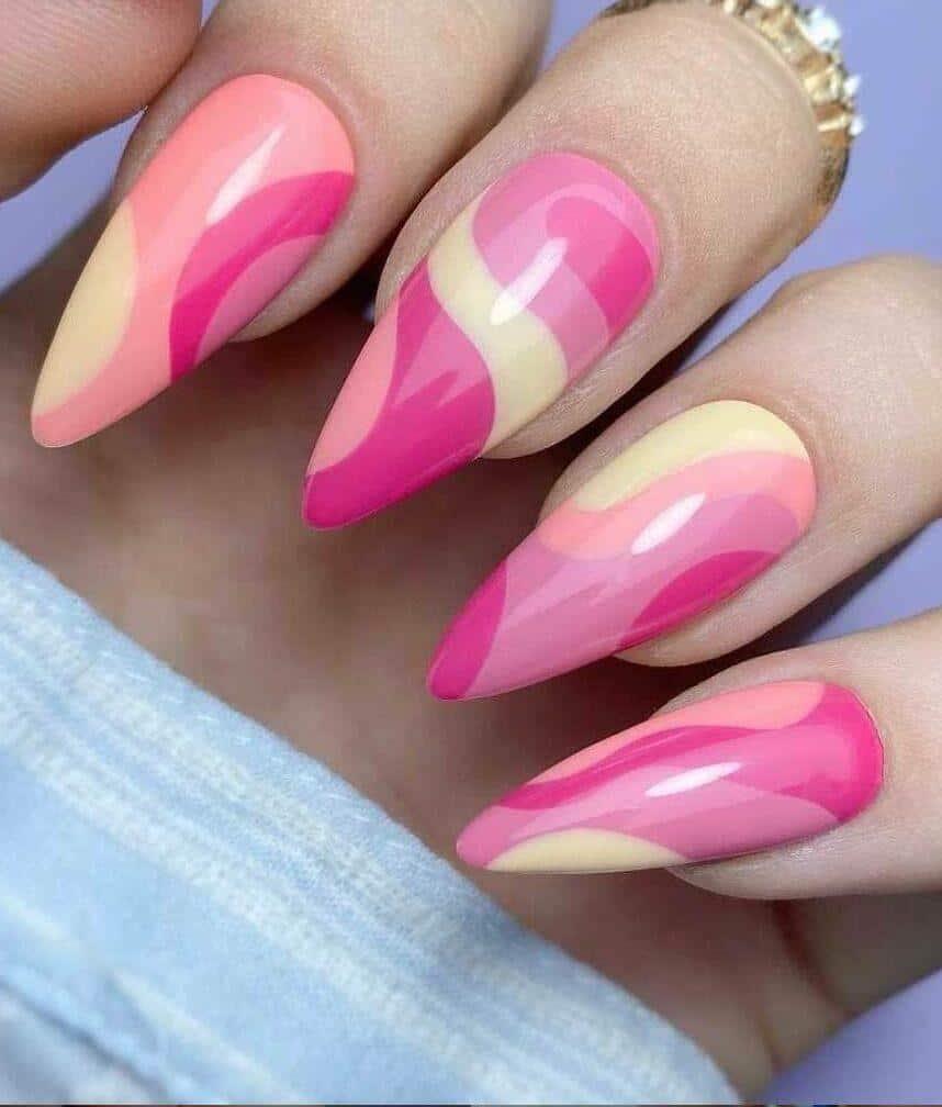 Pink Perfection Nails