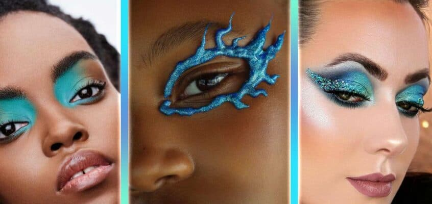 17 Blue Eyeshadow Looks For Every Occasion And Skill Level