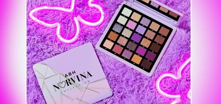A New Norvina Eyeshadow Palette By ABH Has Just Landed!