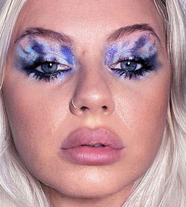 Blue Impressionism eyeshadow
